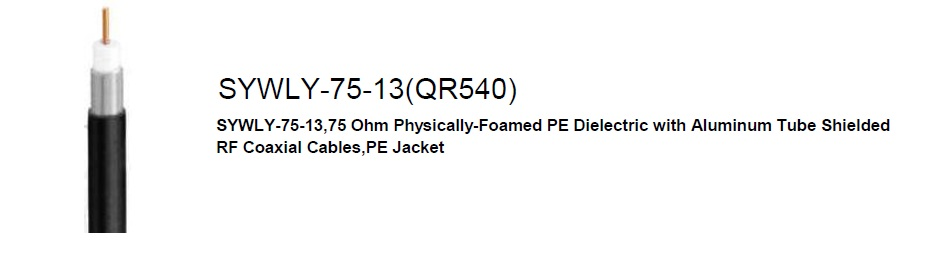 Cáp đồng trục QR540